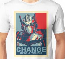 Optimus Prime - Change Unisex T-Shirt