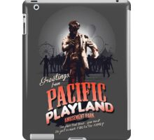 Greetings From Pacific Playland iPad Case/Skin