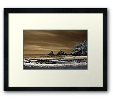 Gold Is The Sky Framed Print