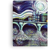 Paris Night Canvas Print