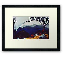 Peak Experience Framed Print