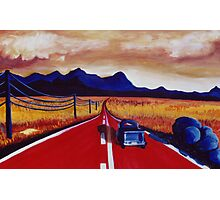 Red Road Photographic Print