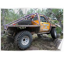 Tough Tracks Rd 2 2008 Poster