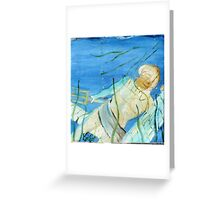 Posidens Temple Reclaimed Greeting Card