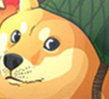 Doge, the bomb expert. CSGO Sticker