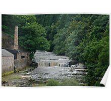 New Lanark - the retort house Poster