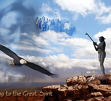 Offering to the Great Spirit by Arie van der Wijst