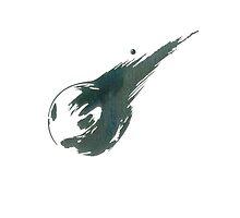 Final Fantasy 7, meteor logo by endgameendeavor