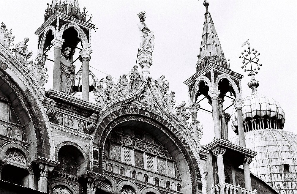 St Mark's Crowns by Venice