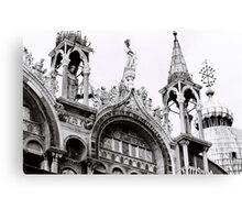 St Mark's Crowns Canvas Print