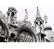 St Mark's Crowns Photographic Print