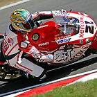 WSBK Troy Bayliss by Mark Greenwood