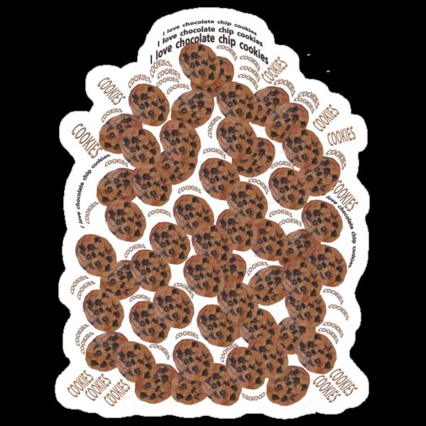 I Love Chocolate Chip Cookies by DAdeSimone