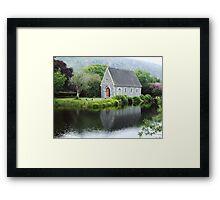 Gougane Barra Reflections Framed Print
