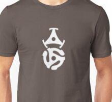 Two 45 Record Adaptors Unisex T-Shirt