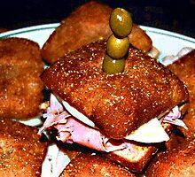 Bagel Bread Mini Bites by jpryce