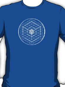 Cubed Flower of Life  T-Shirt
