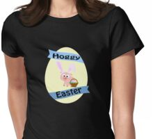 Hoggy Easter!  Womens Fitted T-Shirt
