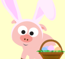 Hoggy Easter!  Sticker