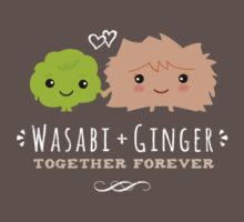 Wasabi and Ginger Together Forever Kids Clothes