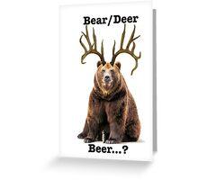 Beer? 2 Greeting Card
