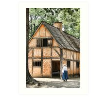 Jamestown Settlement Art Print