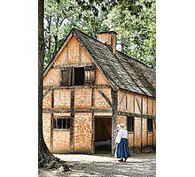 Jamestown Settlement Photographic Print