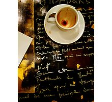 Write To Me (in any language) Photographic Print