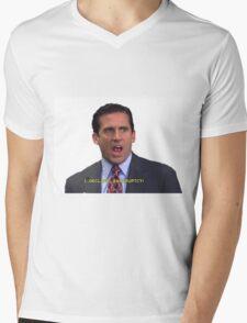 I...DECLARE...BANKRUPTCY! Mens V-Neck T-Shirt