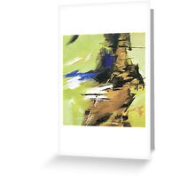 Soothing Abstract Greeting Card
