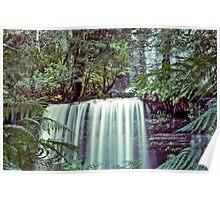 Tasmania's Russell Falls Poster