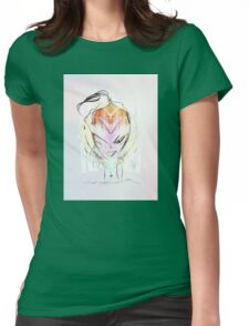 cool sketch 47 Womens Fitted T-Shirt