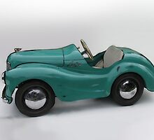 1946 Ausin pedal car by Lightrace