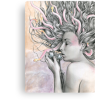 Medusa's Lament  Canvas Print