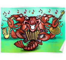 Crawfish Band Poster