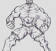 Hulk by vampiro45