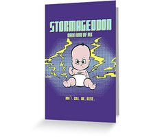Little Stormy Greeting Card