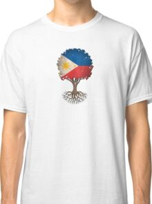 Tree of Life with Filipino Flag Classic T-Shirt