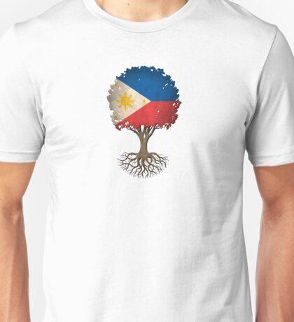 Tree of Life with Filipino Flag Unisex T-Shirt