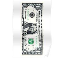 1 Dollar Bill Poster