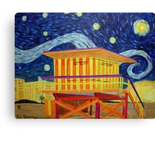 Vincent on the Beach Canvas Print