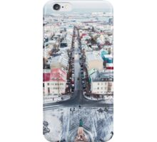 View over Reykjavik iPhone Case/Skin