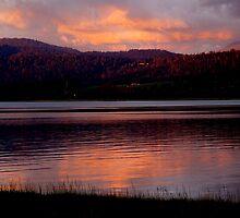 photoj Tasmania Launceston, 'Sunset On The Tamar River' by photoj