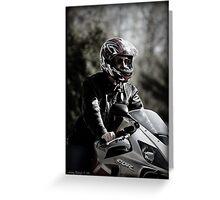 Rider II Greeting Card