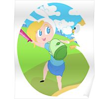 Fionna and Cake! Poster