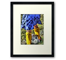 The Sport Shot Framed Print