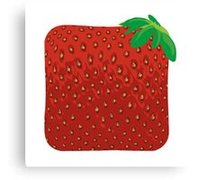 Square Strawberry Canvas Print