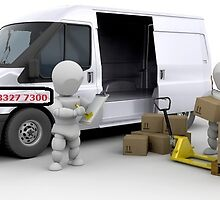 Best Removal Company In London BYMV by Simon Gare