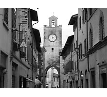 Time stands still in Pisa, Italy Photographic Print
