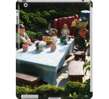 Alice and The Mad Hatter's Tea Party iPad Case/Skin